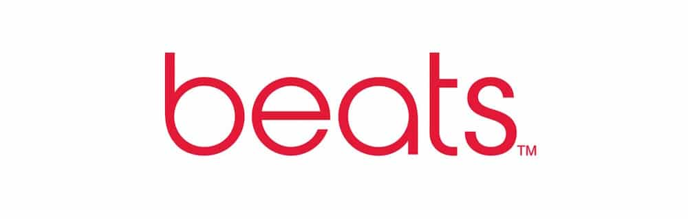 Apple beats logo
