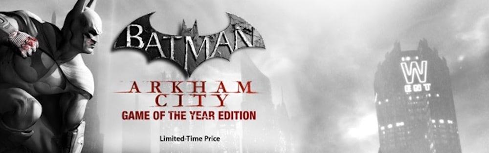 Mac App Store Batman Arkham City