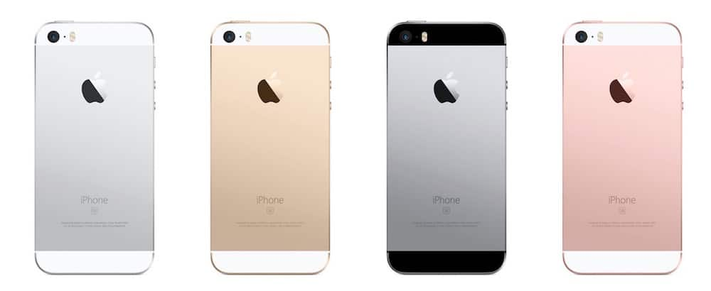 iPhone SE Colores
