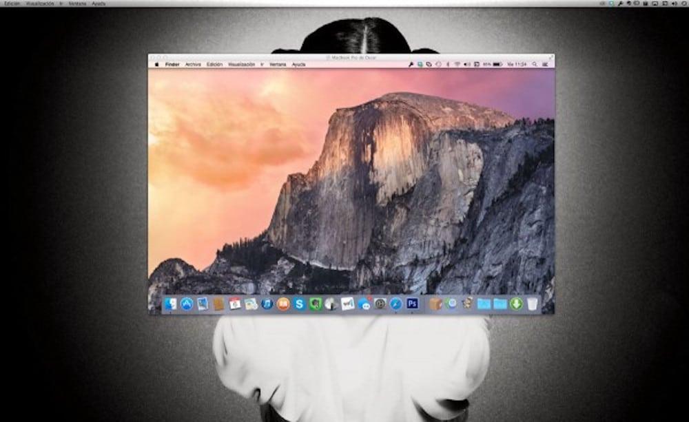 Compartir pantalla Mac OS X