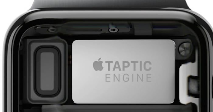 Apple Watch motor Haptico
