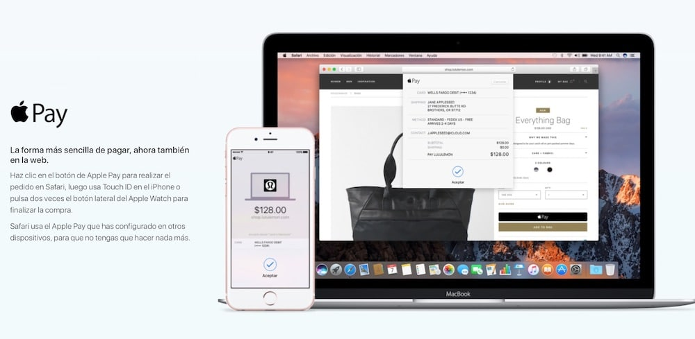 macOS Sierra Apple Pay-howpple