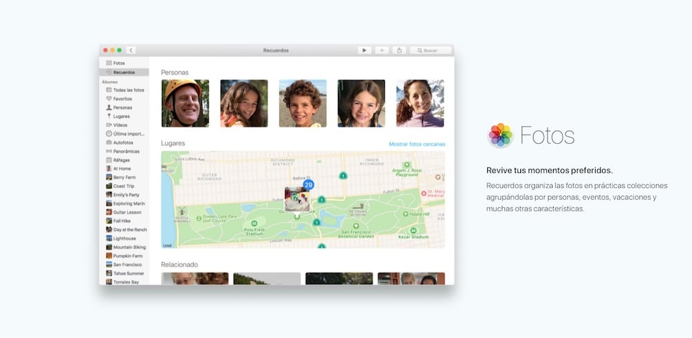 macOS Sierra fotos-howpple