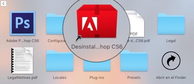 Como borrar una aplicación en Mac Desinstalador PSD-Howpple