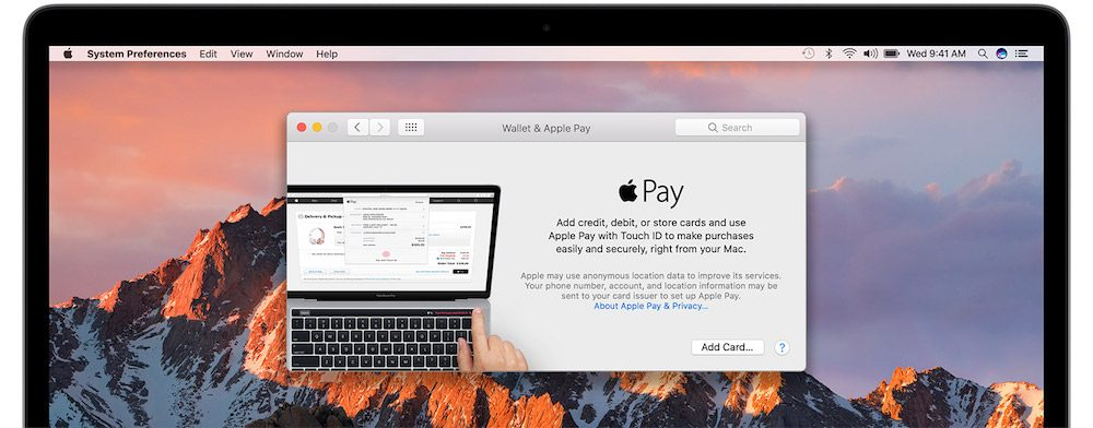 Como configurar Apple Pay MacBook Pro-Howpple