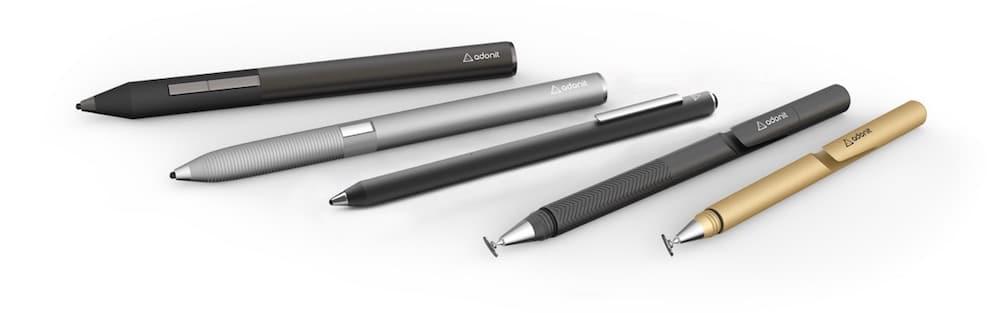 lápiz iPad Jot Pro Nuevos estilos