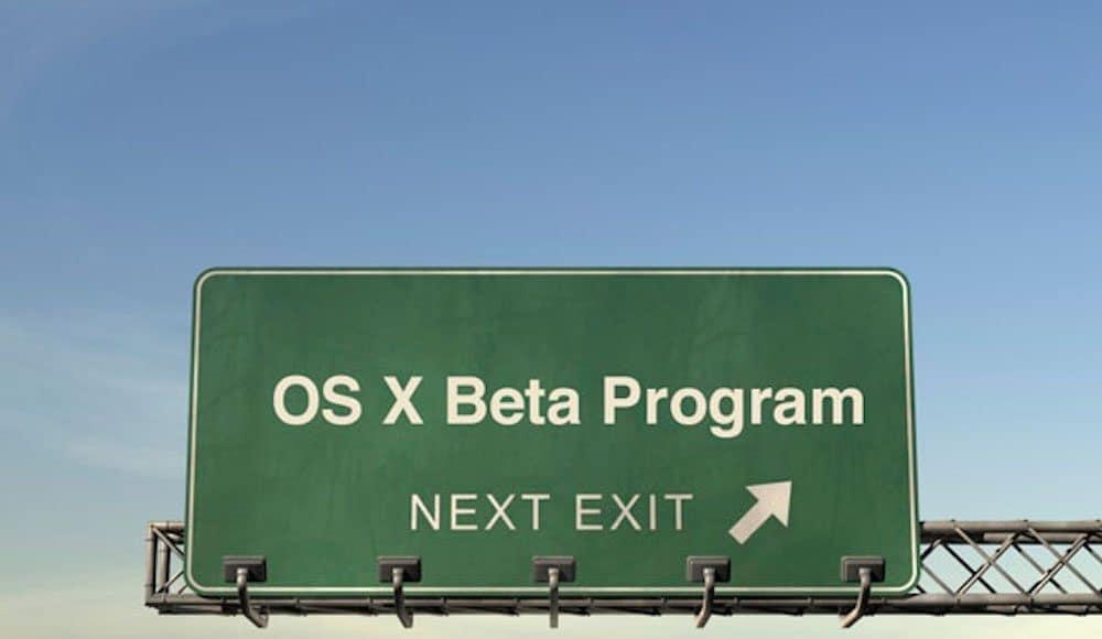 Como salir del programa de betas de OS X