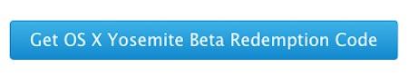 botón para aceptar beta de Yosemite
