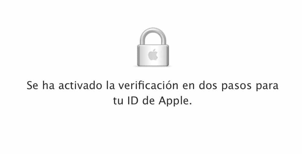 Apple extiende la verificación en dos pasos