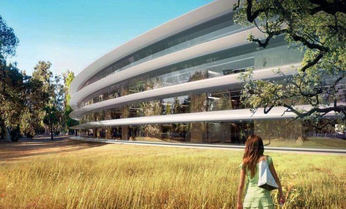 Apple Campus 2 Spaceship
