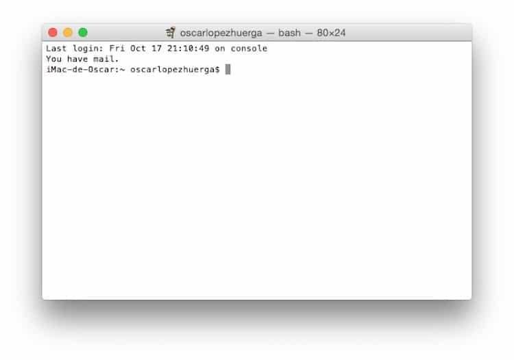 Aprende como crear un USB con OS X o macOS para hacer una instalación limpia Abrimos el Termina