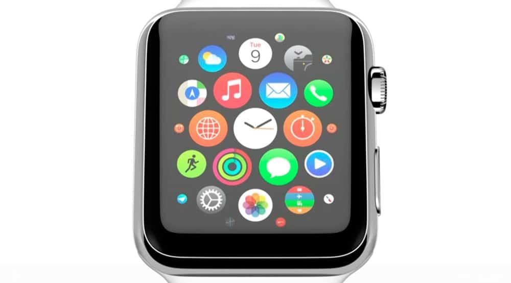 imagen oficial del Apple Watch