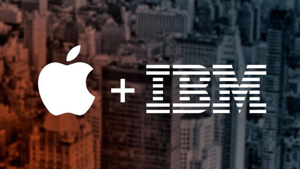 apple e ibm lanzan aplicaciones al mercado