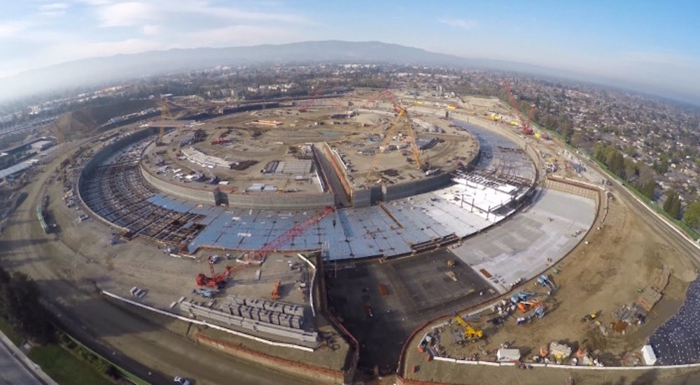 Apple Campus 2 Closeup