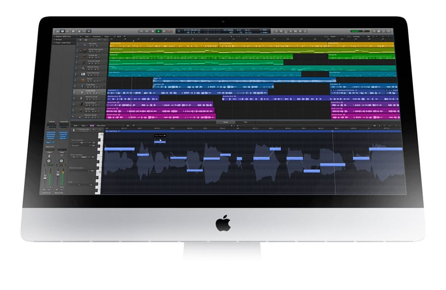 Apple actualiza Logic Pro X