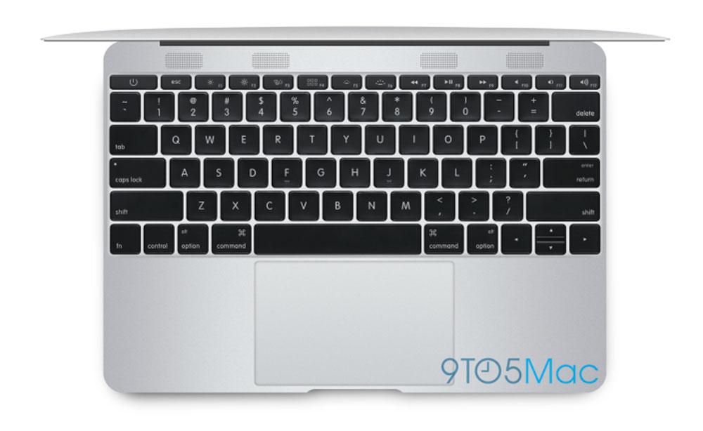 Teclado del nuevo MacBook Air de 12 pulgadas