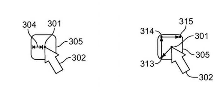 Patente Apple que mide la distancia