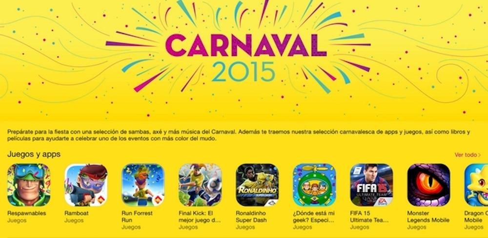 Colección de Apps para carnaval 2015 iTunes