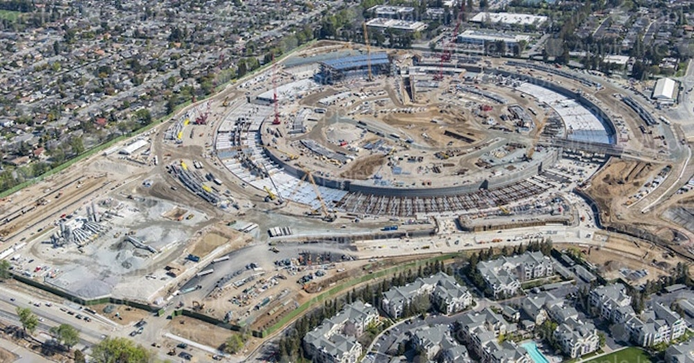 Apple Campus 2 Proceso