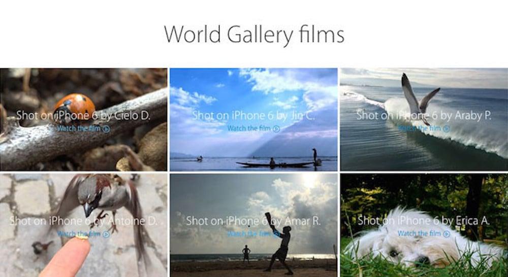 Apple presenta la colección Fotografiado con iPhone 6