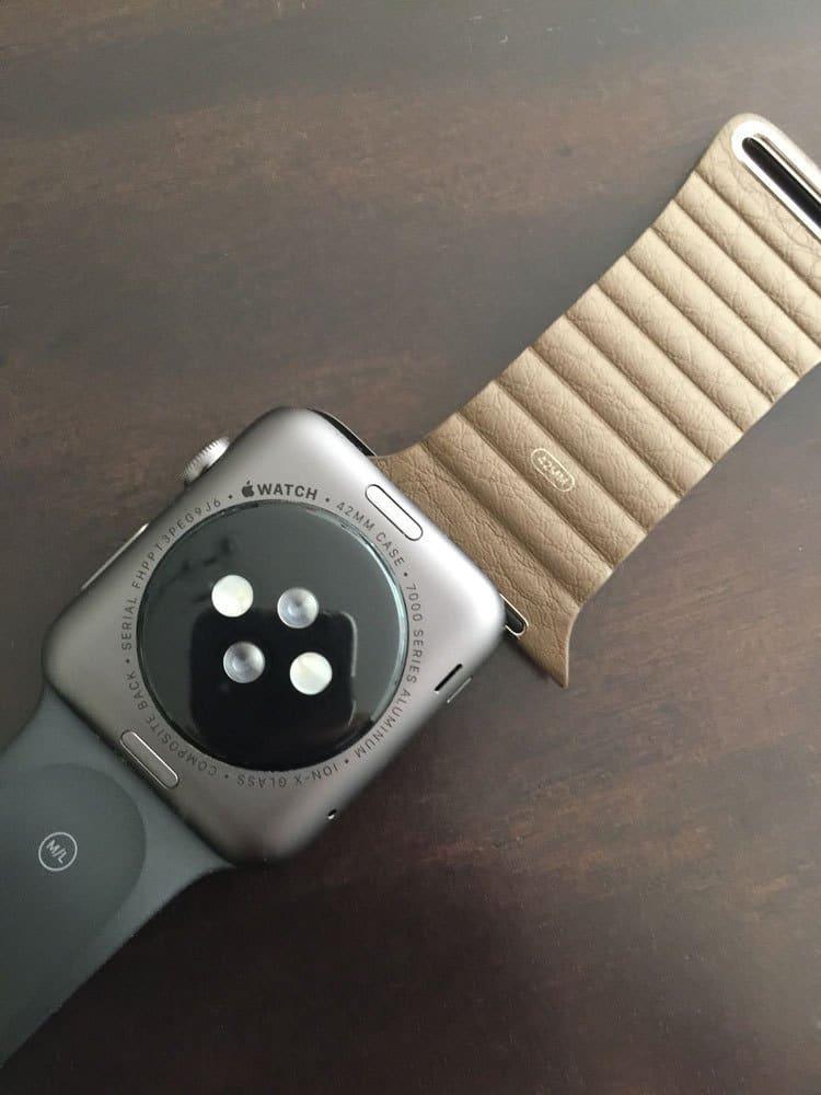 Apple Watch Cambio correa piel