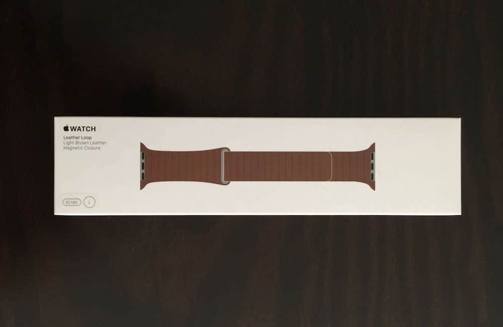 Apple Watch Correa piel