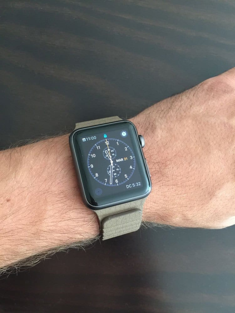 Apple Watch Sport Correa piel