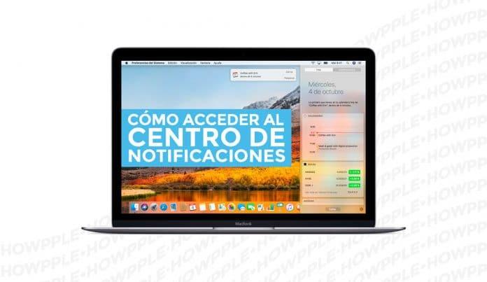 Aprende Cómo abrir rápidamente el Centro de notificaciones en Mac de tres maneras diferentes