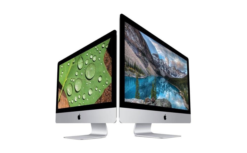 Apple anuncia los nuevos iMac con pantalla retina 4K y 5K