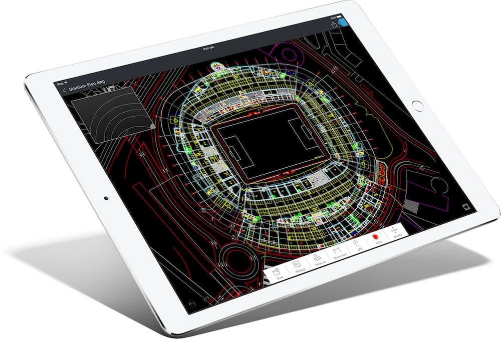 Aplicaciones profesionales iPad Pro
