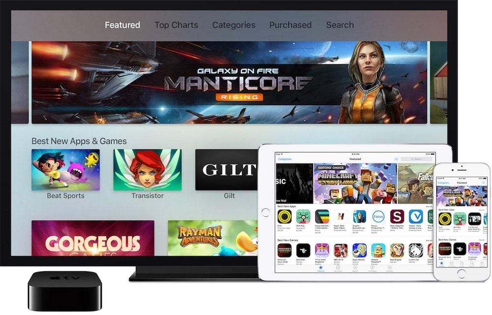 Apple TV Apps y Juegos más descargados
