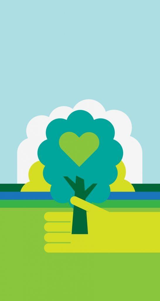 Fondos de pantalla Naturaleza en Armonia iPhone