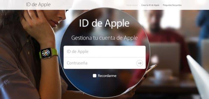 recuperar contraseña del ID Apple