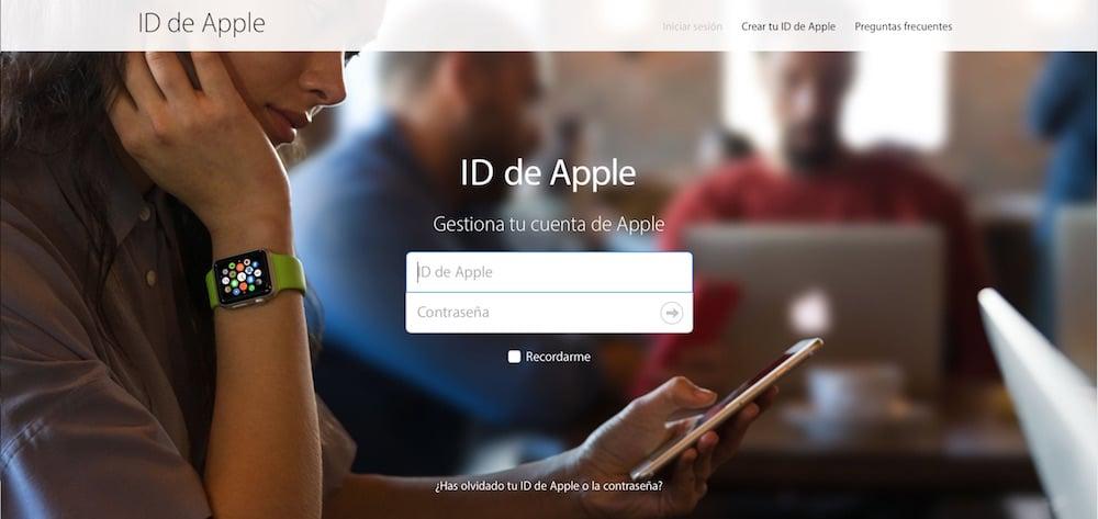 ID de Apple Portal