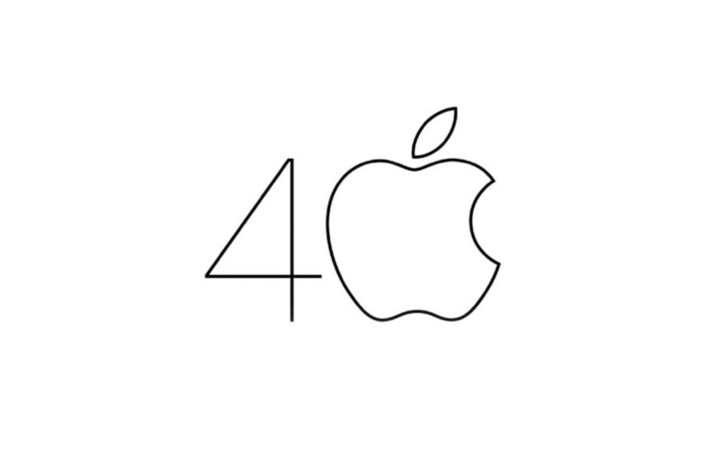Apple 40 Aniversario