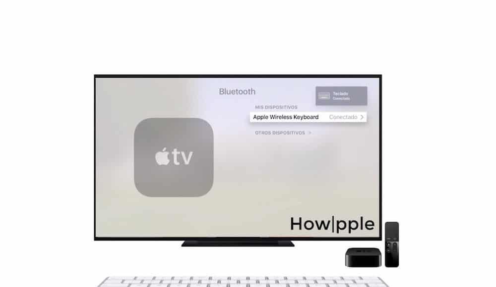 Apple TV Teclado Bluetooth Howpple