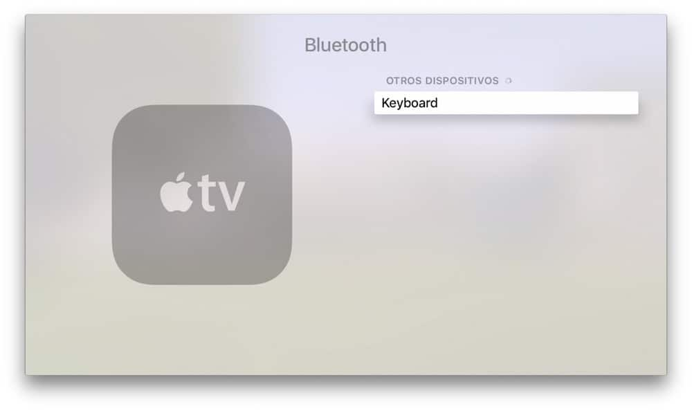 Apple TV Teclado Bluetooth