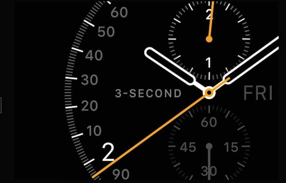 Apple Watch Tiempo