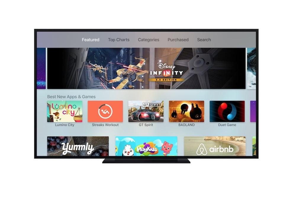 Apps y Juegos para Apple TV mas descargados Marzo 4