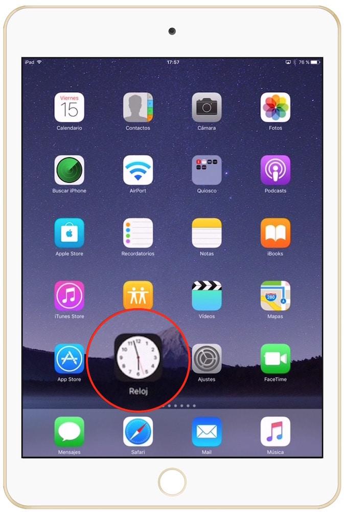 Como cambiar la temperatura en iPad