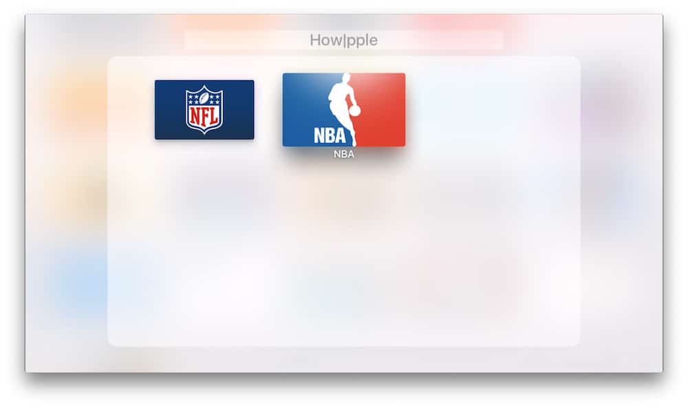 Crear carpetas en Apple TV Apps en Carpeta