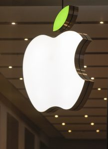 Día de la tierra Apple Store Logo