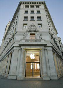 Día de la tierra Apple Store Passeig de Gracia