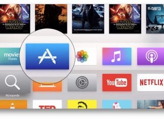 App Store Apple TV 4