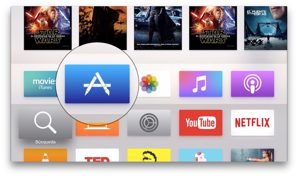 App Store Apple TV 4
