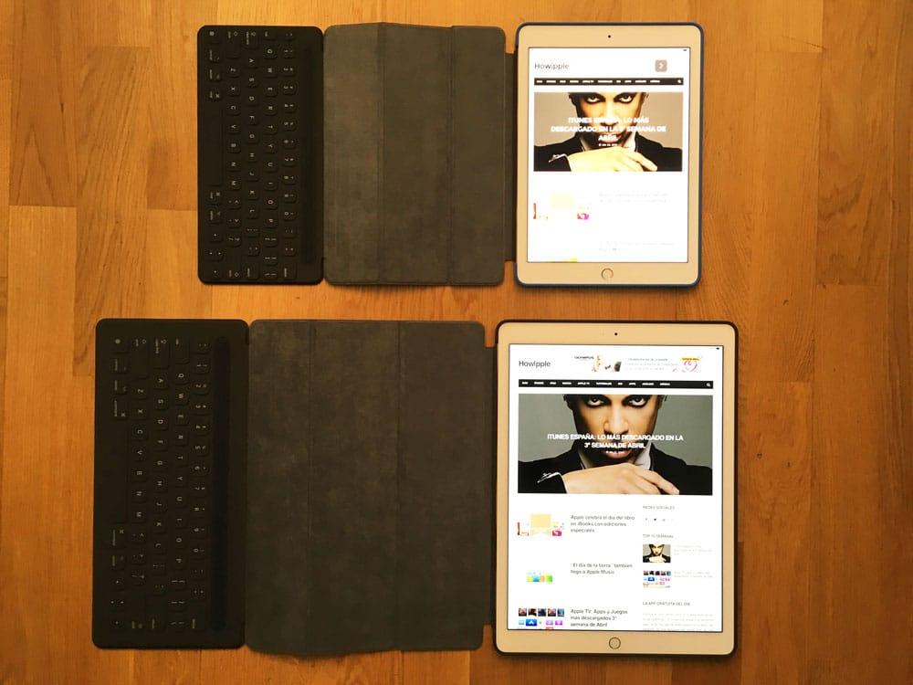 iPad-Pro-12-iPad Pro de 9´7 vs 12 TecladoVS-97-Teclados