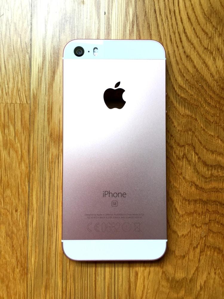 iPhone SE Trasera