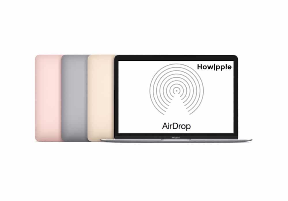 Activa AirDrop en Mac Antiguos