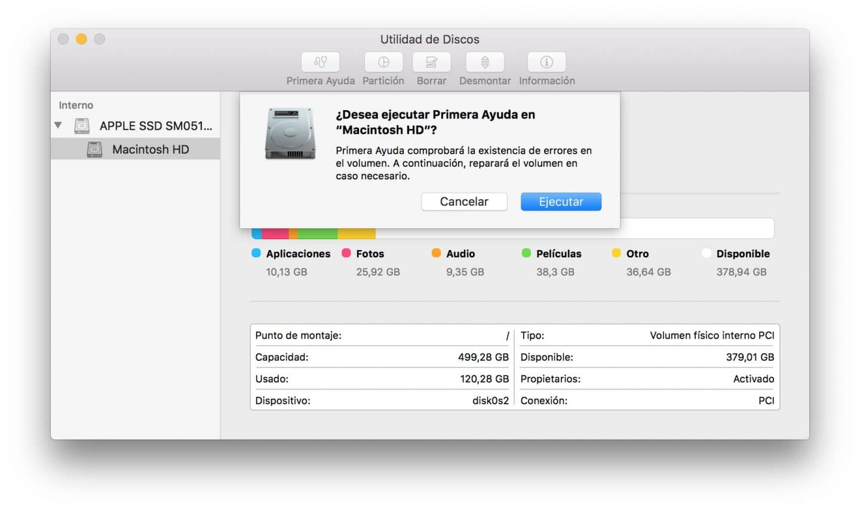 Como reparar permisos en Mac OS X Verificar permisos
