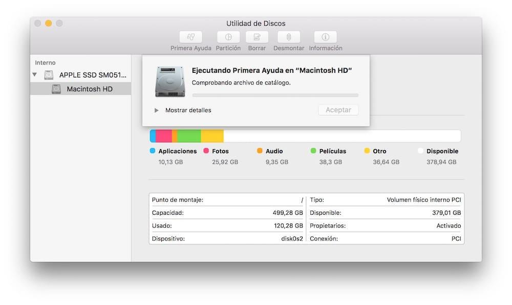 Como verificar y reparar permisos en Mac OS X análisis